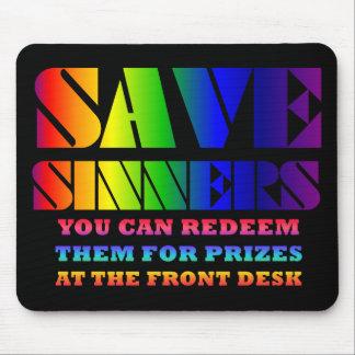 Salvar pecadores Mousepad