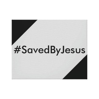 salvar por Jesus Impressão De Canvas Envolvidas