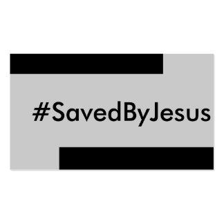 salvar por Jesus Cartoes De Visitas