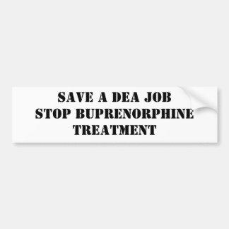 Salvar um trabalho do DEA: Pare o tratamento de Bu Adesivo Para Carro