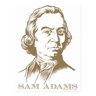 Sam Adams Cartão Postal