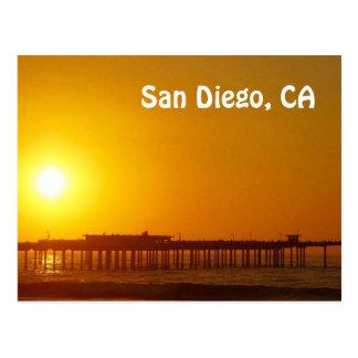 San Diego, cartão de CA Cartão Postal