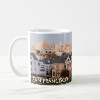 San Francisco - caneca de café pintada das