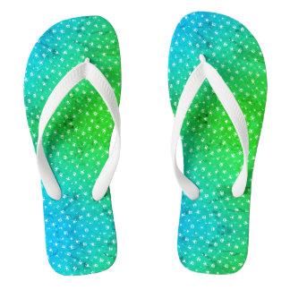 Sandálias legal do falhanço de sacudir do verde