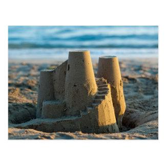 Sandcastle postcard cartão postal