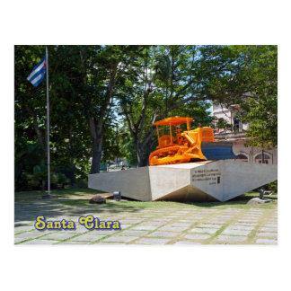 Santa Clara, Cuba. Trem descarrilhado 6 Cartão Postal