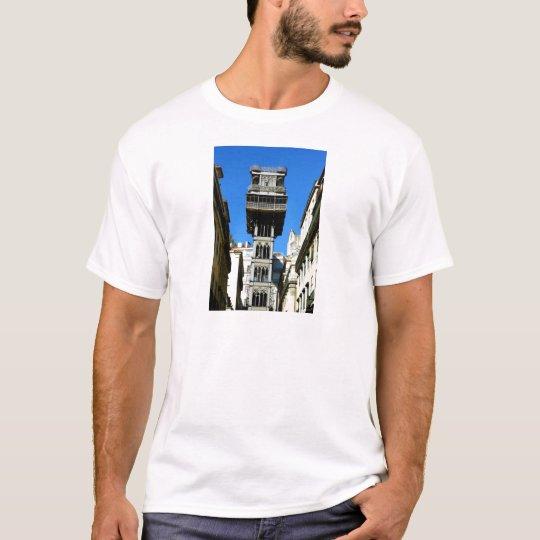 Santa Justa Lift, Lisbon, Portugal T-shirt