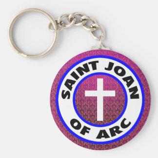 Santo Joana do arco Chaveiro