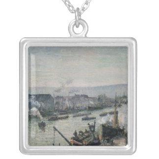Santo-Separe o porto, Rouen, 1896 Colar Banhado A Prata