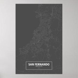 São Fernando, Trinidad and Tobago (brancos no Pôster