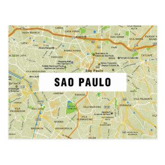 ♥ Sao Paulo dos CARTÃO do MAPA