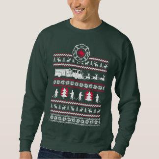 SAPADOR-BOMBEIRO - camisola feia do Natal Moleton
