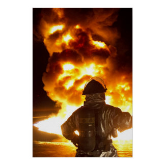 Sapador-bombeiro militar poster