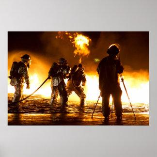 Sapadores-bombeiros militares posters