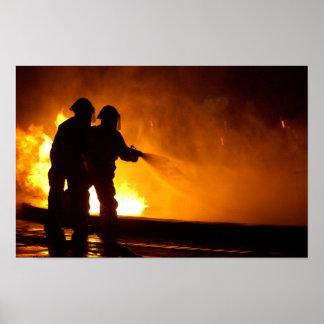 Sapadores-bombeiros militares poster