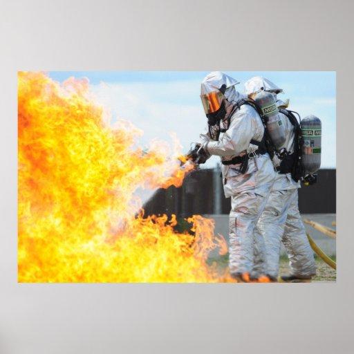 Sapadores-bombeiros militares posteres