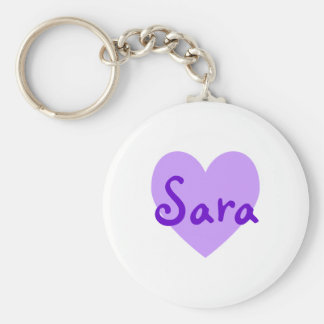 Sara no roxo chaveiros