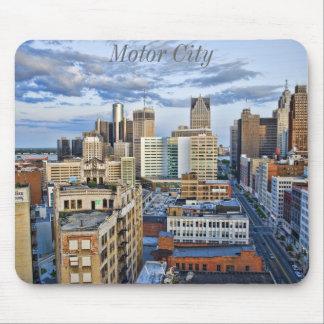Saturação da cidade do motor mouse pads
