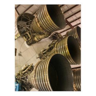Saturn V Rocket Cartão Postal