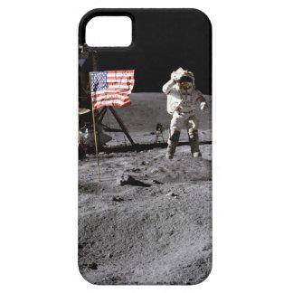 Saudação de Apollo 16 Capa Barely There Para iPhone 5