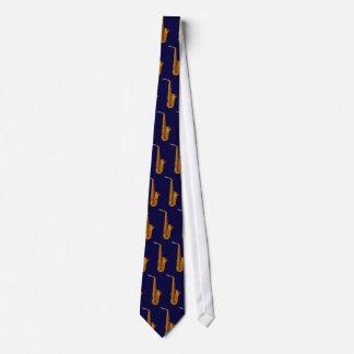 Saxofone do alto - marinho gravata