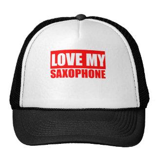 Saxphone engraçado boné