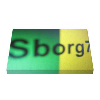 """""""Sborg7 a dream"""" Impressão Em Tela"""