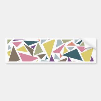 Scatter do triângulo adesivo para carro