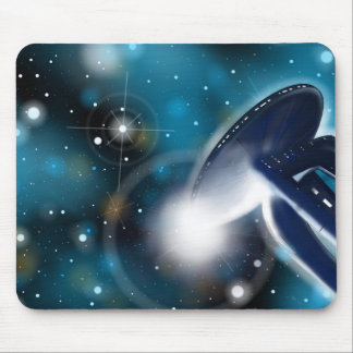 Scifi Mousepad da estação espacial