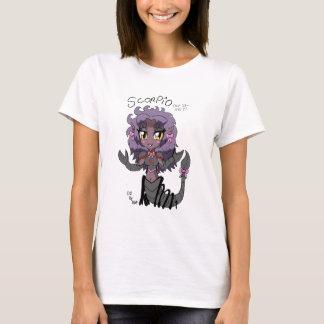 scorpio da parte superior do anime do chibi t-shirts
