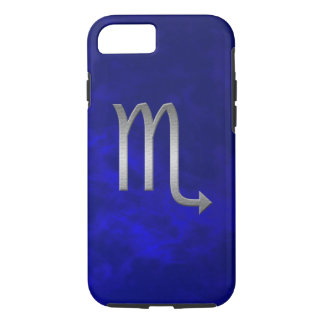 scorpio de prata - azul capa iPhone 8/7