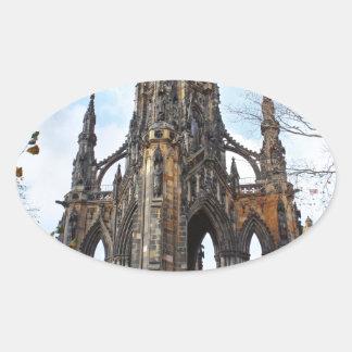 scott monument.jpg adesivo oval