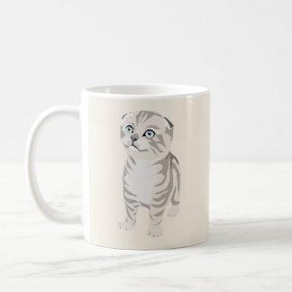  Scottish Fold Kitten Mug Caneca