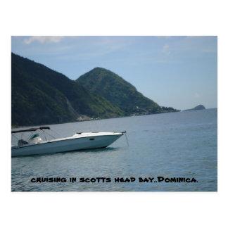 scotts dominica. principal cartão postal