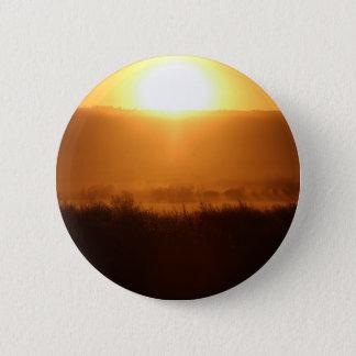 Scottsbluff Nebraska que cultiva o por do sol da Bóton Redondo 5.08cm