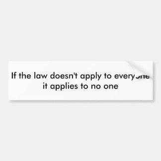 Se a lei adesivo para carro