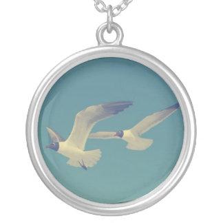 Se você é um pássaro, a seguir eu sou um pássaro colar banhado a prata