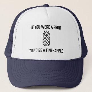 Se você era um fineapple da fruta boné