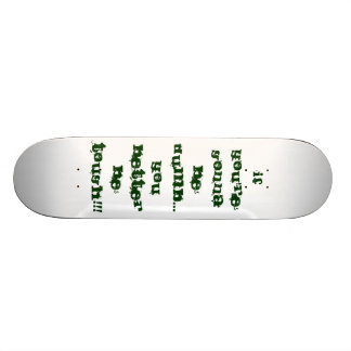 Se você está indo ser mudo… você melhor seja RESIS Shape De Skate 21,6cm