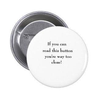 Se você pode, leia este botão, você são maneira ta boton