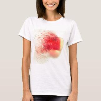 """Seaham Seaglass """"pouca bala vermelha"""" que explode T-shirts"""