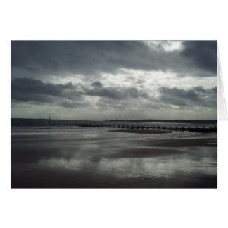 Seascape de Aberdeen Cartão Comemorativo