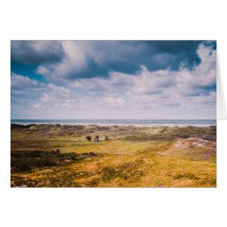 Seascape do cartão de Anglesey