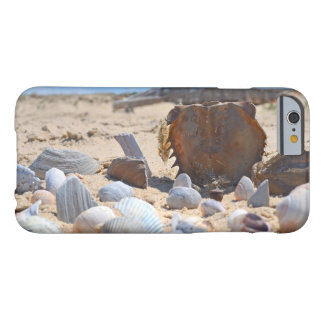 Seashells na praia por Shirley Taylor Capa Barely There Para iPhone 6