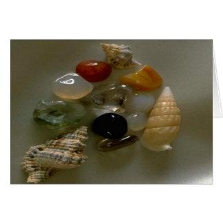 Seashells pelo Litoral Cartão De Nota