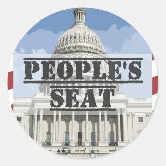 Seat do pessoa - senador Scott Brown Adesivo