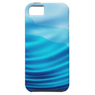 Seda azul capas iPhone 5 Case-Mate