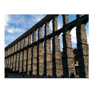Segovia, cartão da espanha cartão postal