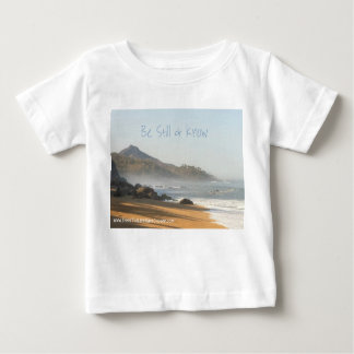 Seja ainda & saiba - o Tshirt da criança