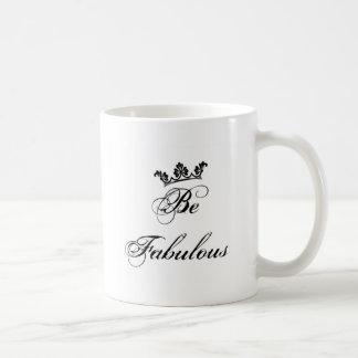 Seja citações fabulosas caneca de café